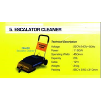 sikat Escalator Cleaner