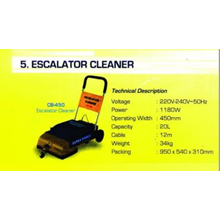 Escalator Cleaner
