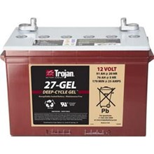 Trojan Battery battery Type 27-GEL 12V