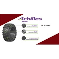 Ban Alat Berat Roda Forklift Achilles 8.15-15/7.00