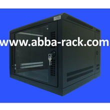 Wallmounted Rack Double Door 8U