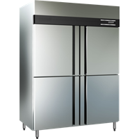 Upright Chiller 6 Door Masema Supplies restaurants and cafes