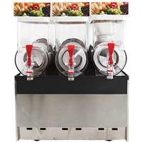 Jual Mesin Pembuat Es Krim Ice Slush Machine Masema 3 Bowl