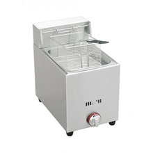Mesin Penggorengan Gas Deep Fryer Single Tank Portable 6 L Masema
