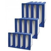 Jual Hepa Filter V Bank Filter 2