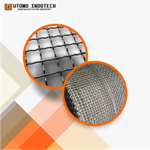 Wire Mesh dan Grating Screen Baja