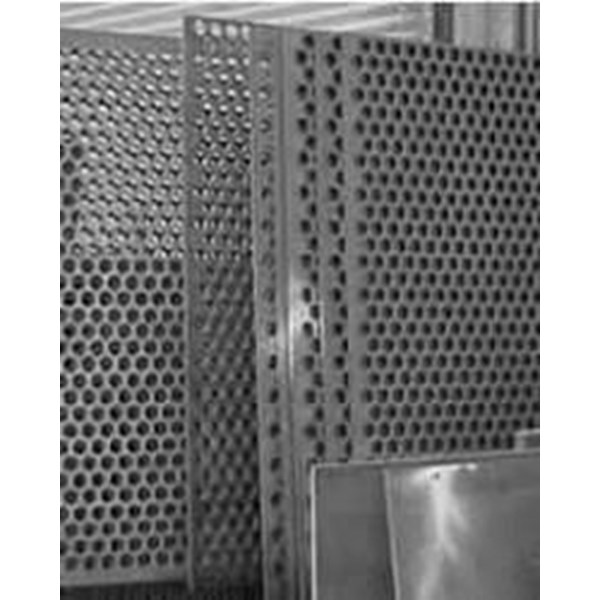 Pleated Filter Perforated Plate