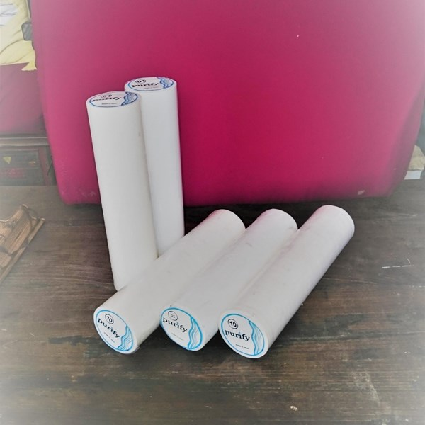 Liquid Filter Cartridge Styrofoam 20""