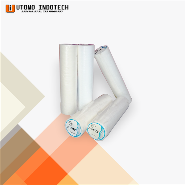Liquid Filter Cartridge Styrofoam 5 micron