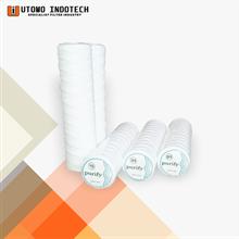 Liquid Filter Catridge Benang Cotton Yarn Core Tin