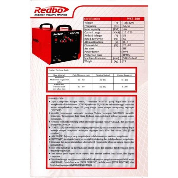 Mesin Las ACDC Redbo
