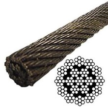 Wire Rope Non Rotating 19×7 Spesial For Crane