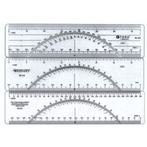 Penggaris Protactor W 43 W 44 W 45 W 5