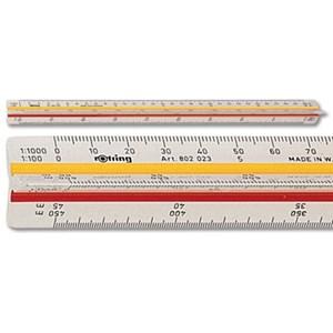 Penggaris ROTRING Skala 802019 802020 802022 802023