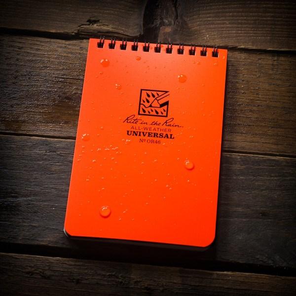Buku Tulis Rite/Rain Orange Top Spiral 4 X 6