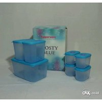 Tupperware Frosty Blue