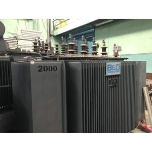 Trafo Distribusi Bambang & Djaya 2000KVA - Stepdown 20KV / 6.6kV - 3 Phase