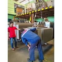 Distributor Trafo 3 Phase Trafindo 1250kVA - 18kV ~14kV - 400V - Dyn5 - utk. Tambak Udang 3