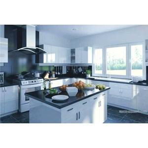 Jual meja granit hitam granit meja kitchen set type granit for Harga granit kitchen set per meter