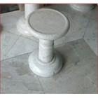 Meja Marmer & Kursi Marmer - Khusus Model Bulat 2