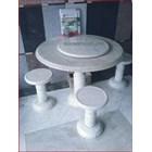 Meja Marmer & Kursi Marmer - Khusus Model Bulat 5