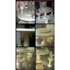 Meja Marmer & Kursi Marmer - Khusus Model Bulat 1