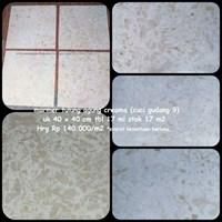 Jual Marmer Tulung Agung Cream Uk 20x30-20x40-40x40 Cm Marmer Cream Tulung Agung-Cuci Gudang