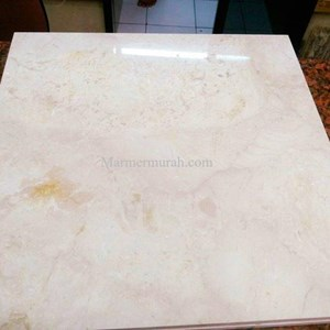 Marble Ujung Pandang Uk 15x30-20x30-30x30-40x40-30x60-40x60-60x60 Cm Marble Makasar Local Marble Light Cream