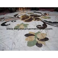 Jual Motif  Marmer Mozaik Marmer Inlay Marmer Motif Lantai Marmer Mozaik Lantai Marmer 2
