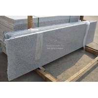 Distributor Tangga Granit Putih Bintik Hitam Import (T1) 3