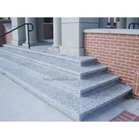 Tangga Granit Putih Bintik Hitam Import (T1) 1