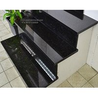 Tangga Granit Hitam Emas Import Ex.India(T5) 1