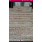 Pink Granite Staircase Import (T8) 3