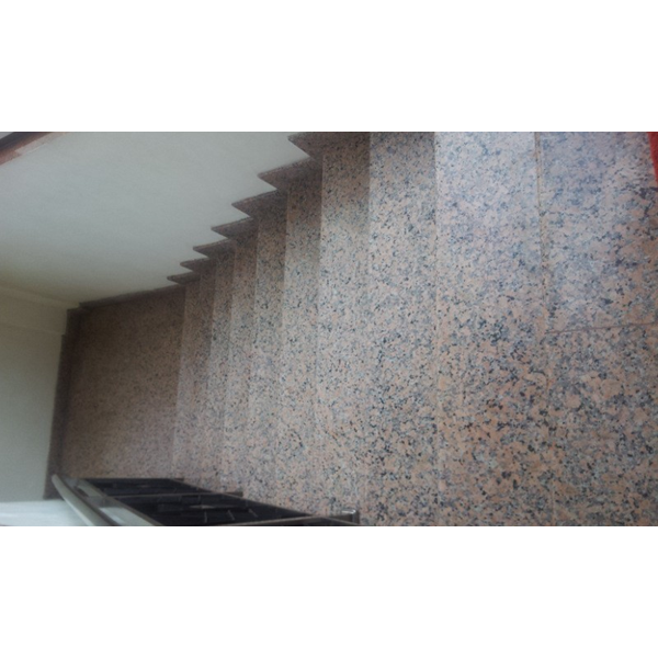 Pink Granite Staircase Import (T8)