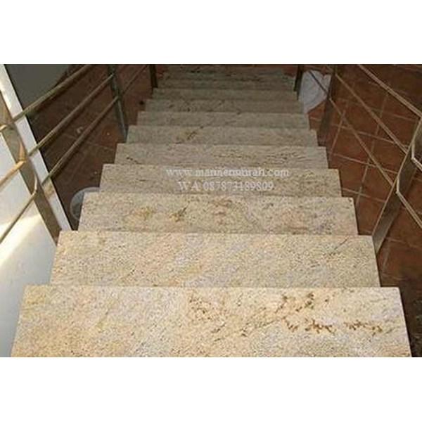 Tangga Granit Kuning Tangga Granit Jellow Import (T9) Ex India