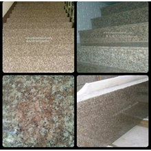 The Brown Granite Staircase Stairs Granite Brown I