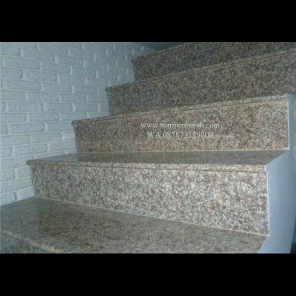 Tangga Granit Coklat Tangga Granit Brown Import (T10)