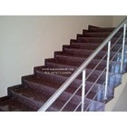 Dark Brown Granite Staircase Import (T12 Classified) 5