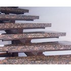 Dark Brown Granite Staircase Import (T12 Classified) 4