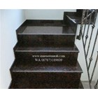 Dark Brown Granite Staircase Import (T12 Classified) 6