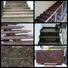 Dark Brown Granite Staircase Import (T12 Classified) 1