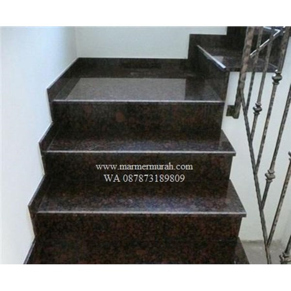Dark Brown Granite Staircase Import (T12 Classified)