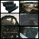 Stairs Granite Green Cat's Eye Old Import (T15) 1