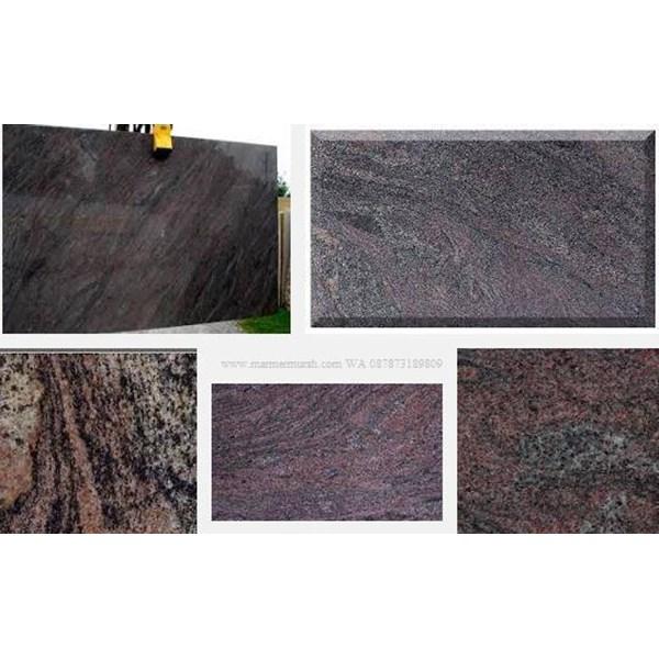 Tangga Granit Ungu Import  Granit Paradiso(T16)