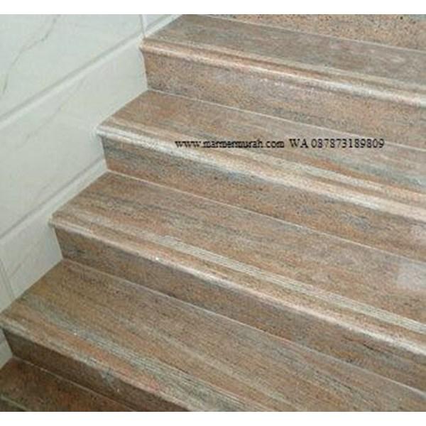 Tangga Granit Pink Import (T17)