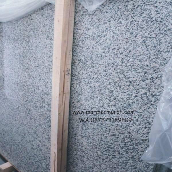 Granit Putih Bintik Hitam Bianco Perla Granit Alam China