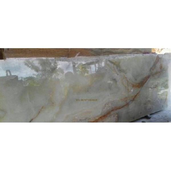 Marmer Onyx Putih Onix Putih (O 40) Onyx Lokal Onix Lokal