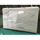 Marmer Carrara Marmer Putih Import Italy Slab 5