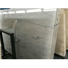 Marmer Carrara Marmer Putih Import Italy Slab 4