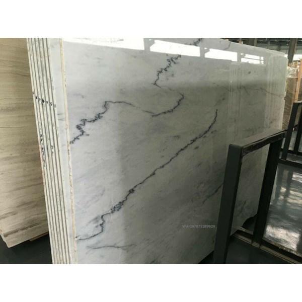 Marmer Carrara Marmer Putih Import ex.cina Slab